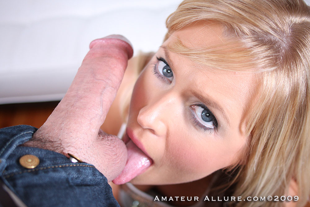 Amateur allure blowjob porn consider, that